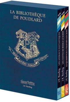 Couverture La Bibliothèque de Poudlard