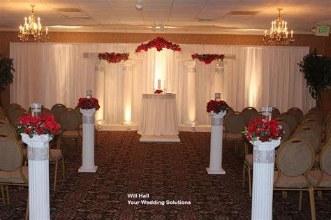 Wedding Decorations With Columns