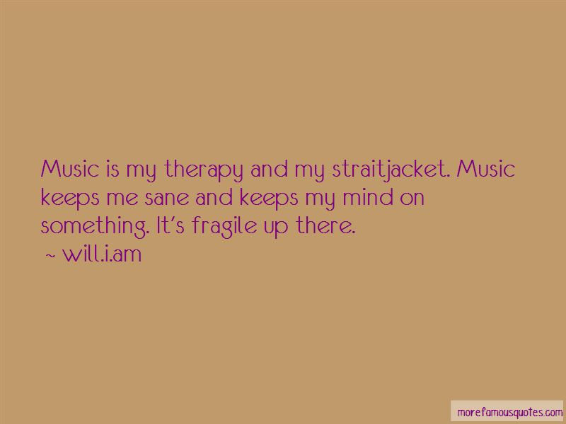 Music Is My Therapy Quotes Top 36 Quotes About Music Is My Therapy