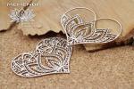 Mehendi - Lotus hearts - Serca z lotosem