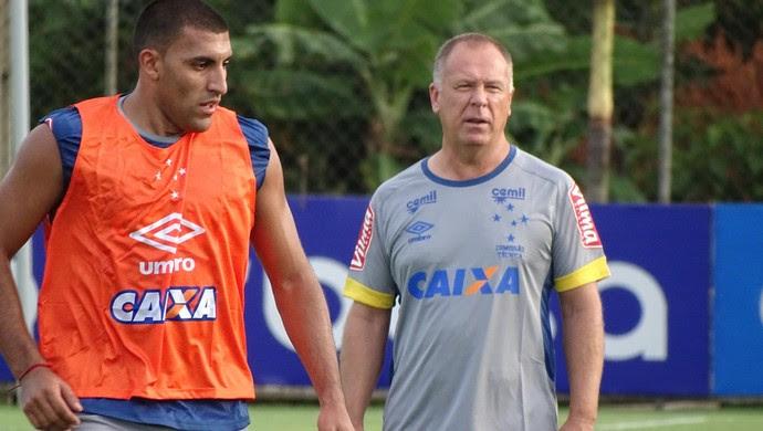 Mano Menezes acredita que grupo do Cruzeiro deve ser praticamente o que se apresentou (Foto: Maurício Paulucci)