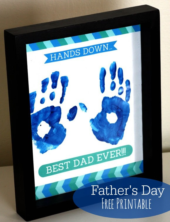 Father's Day Free Printable Gift | CatchMyParty.com