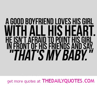 A Good Boyfriend Loves His Girl With All His Heart He Isnt Afraid