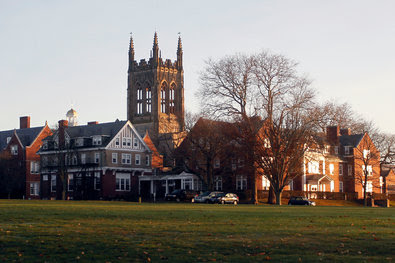 St. George's School in Middletown, R.I. The school on Wednesday released to alumni a report on its investigation of sexual abuse by employees in the 1970s and '80s.