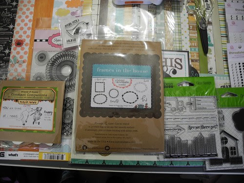 paper and stamps
