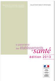 Le Panorama des établissements de santé  édition 2013
