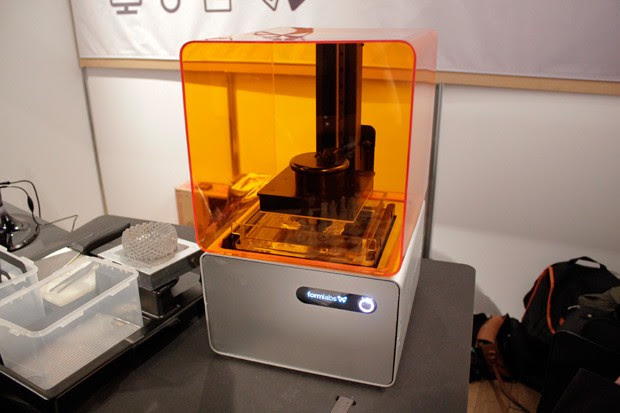 Formlab FORM 1 highresolution 3D printer spotted in the wild, we go eyes on