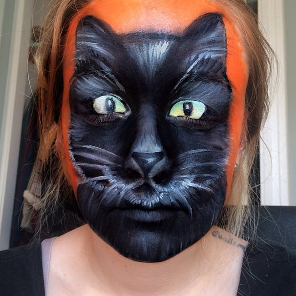 Halloween Face Paint Ideas POPSUGAR Beauty - Cool Halloween Face Paint