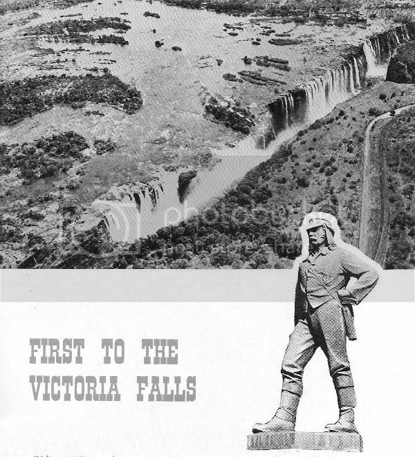 Photo 1, First to the Victoria Falls