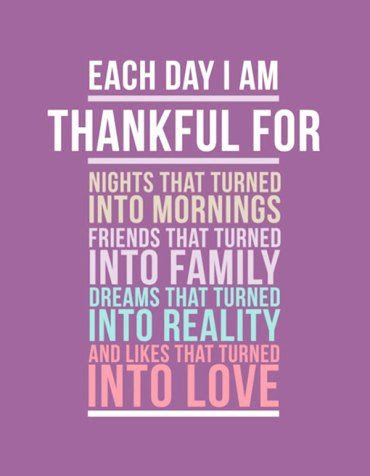 be thankful for the little things. In the end, the little things are what matter the most . ♥