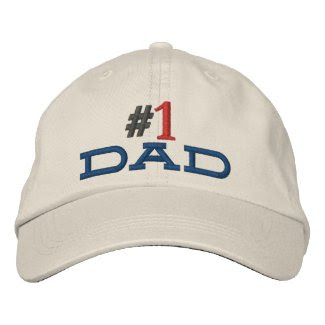 #1 dad hat stitched embroidered baseball cap