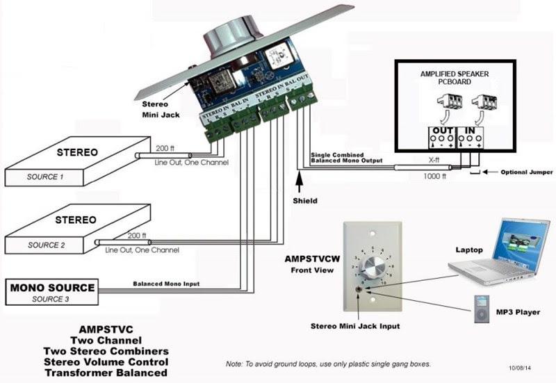 Wiring Diagram  34 Speaker Volume Control Wiring Diagram