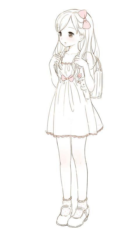 drawing  hot girl dresses   anime girl drawings