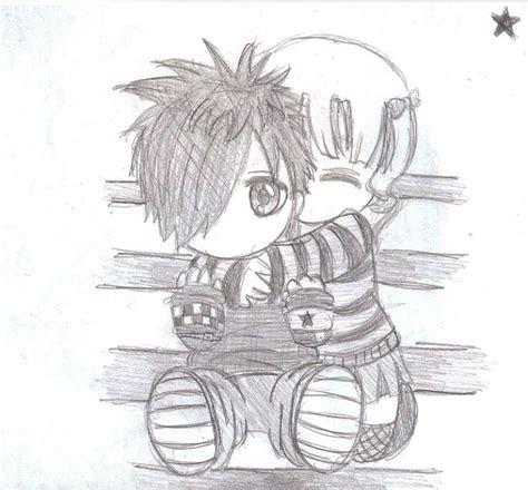 cute love drawings easy emo love drawings