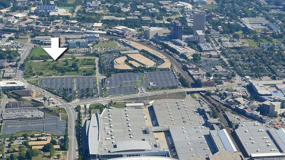 12-acre site near Falcons stadium up for redevelopment ...