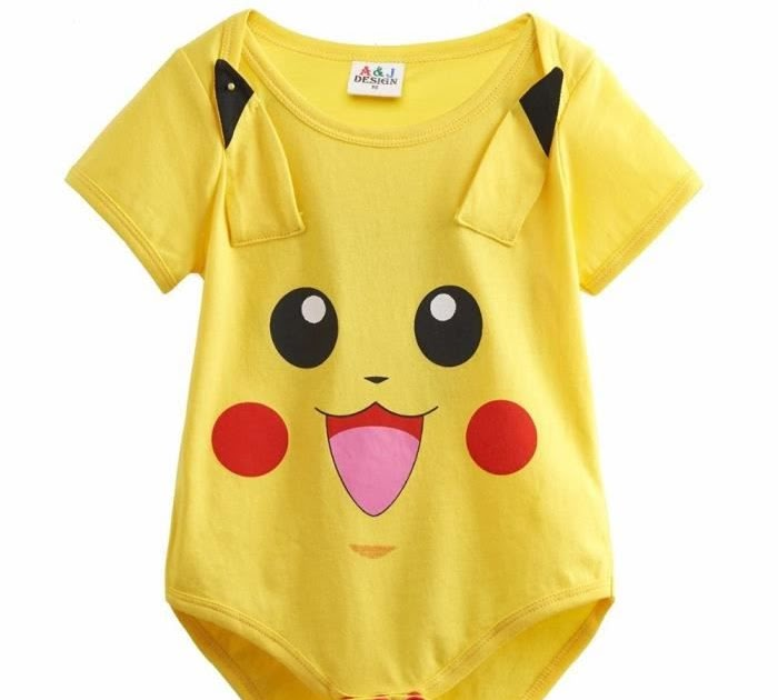 e02eb075007b Pyjama Bebe Pokemon   Conception de Pyjama