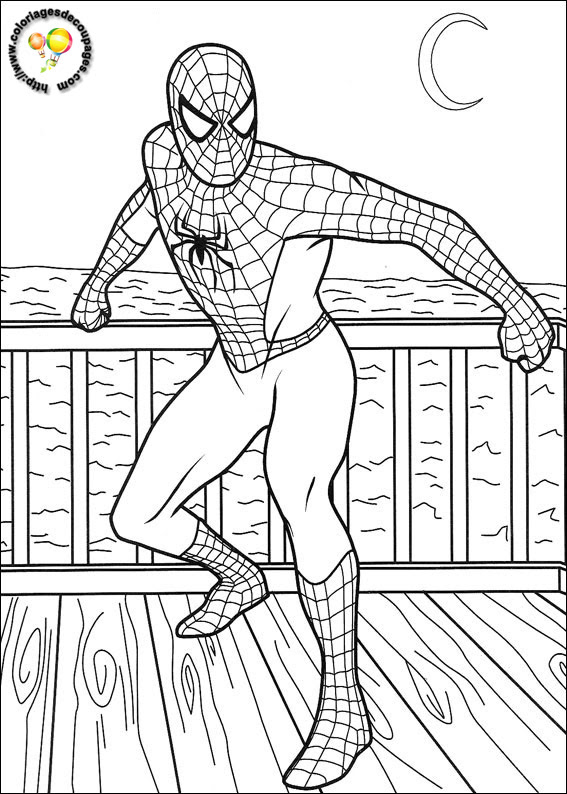167 Dessins De Coloriage Spiderman à Imprimer Sur Laguerchecom