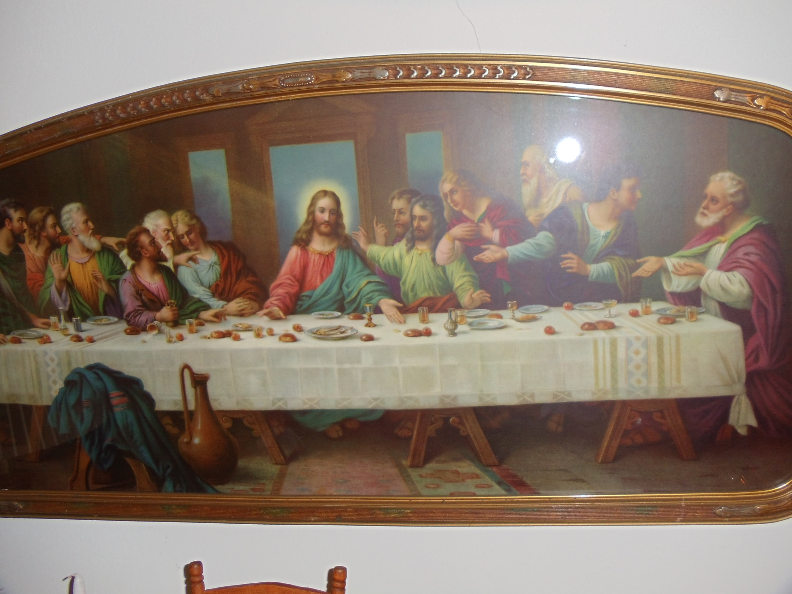 Last Supper Jesus Twelve Apostles For Sale Antiquescom