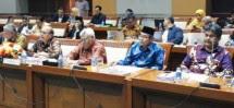 Ketua BAZNAS, Prof Dr Bambang Sudibyo MBA, CA dalam Rapat Dengar Pendapat dengan Komisi VIII DPR (Foto Nina)
