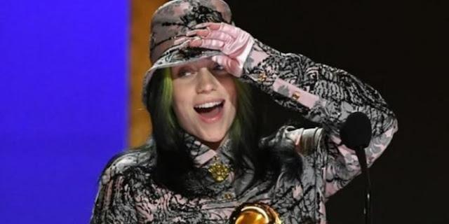 Di Grammy Awards, Billie Eilish Raih Record of the Year Lagi