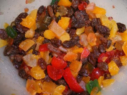 Fruit Mixture for My Fruit Cake