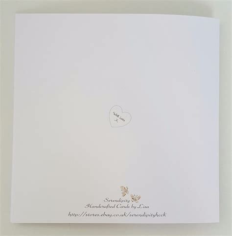 Personalised Wedding Card Gift Wallet Grandson