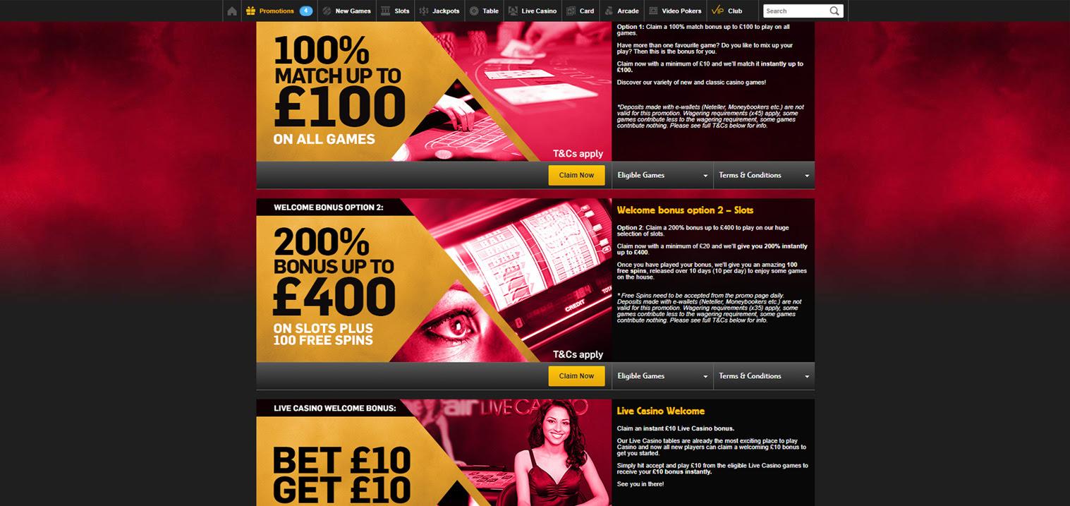 best australian online casino sign up bonus