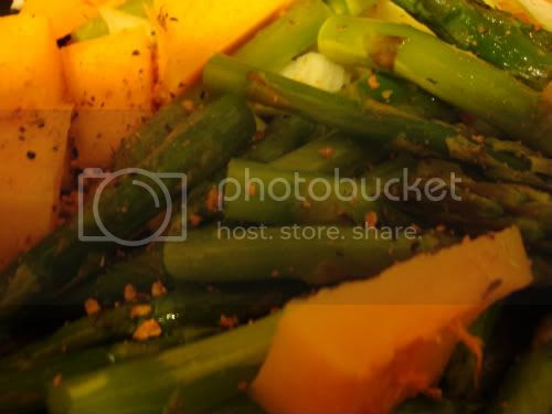 Veggies all spiced up