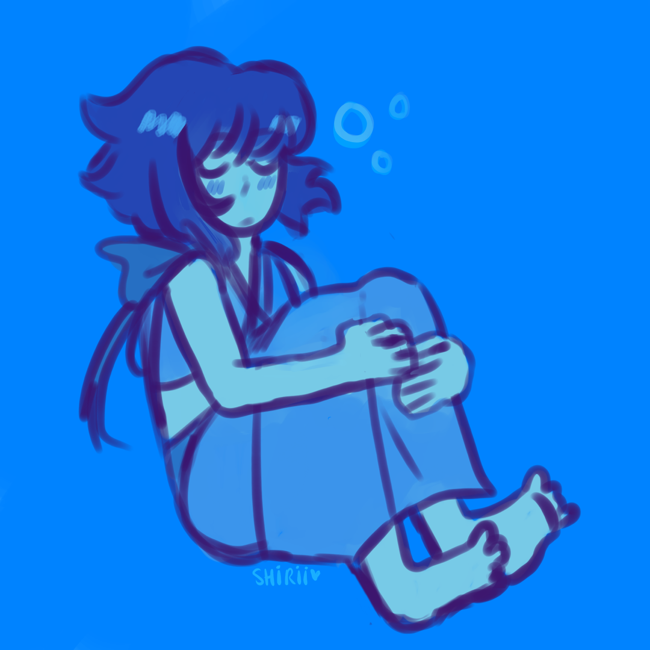 my water wife 💙