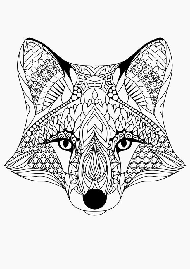 7800 Top Coloring Pages For Adults Difficult Animals Download Free Images
