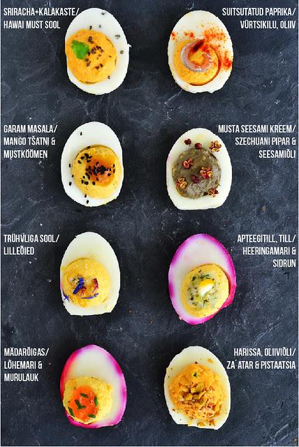 taidetud munad