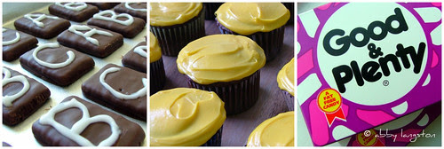 Back-To-School Blackboard Cupcakes