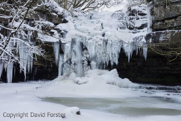 05D-0449 Summerhill Force Waterfall Bowlees, Upper Teesdale, County Durham