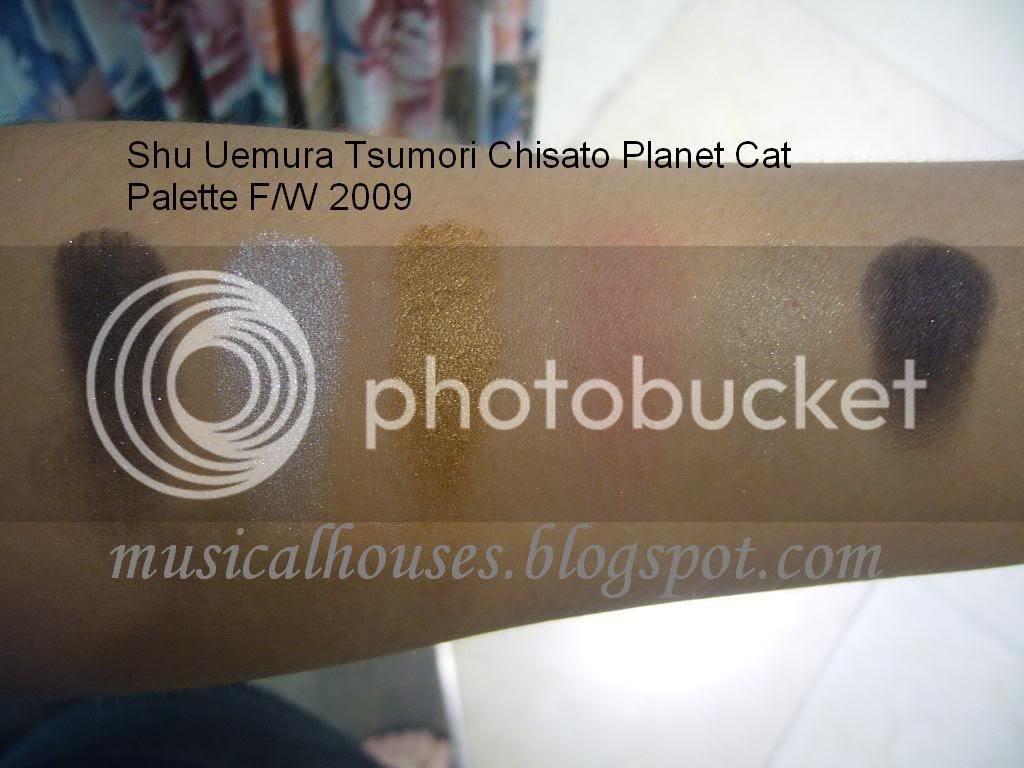Shu Uemura Tsumori Chisato Planet Cat Palette