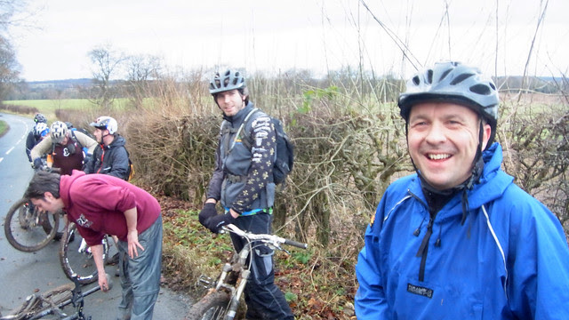 East lothian MTB Christmas/New Year Ride.
