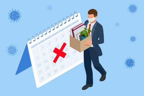 Wrongfully employment contract termination issue during COVID-19 pandemic