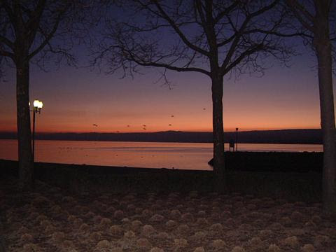 Sunset Lausanne