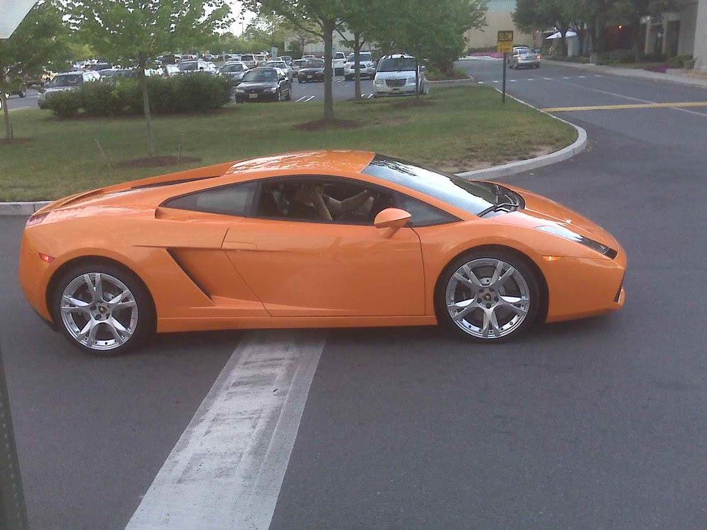 Lamborghini a l'orange