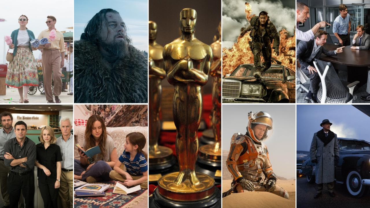 What are the nominees for the 2016 Best Picture Oscar?
