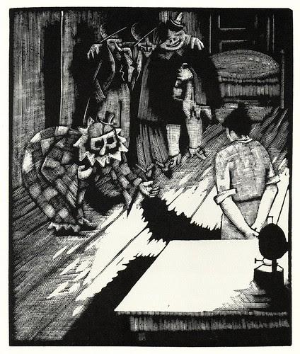 Graphic Novel illustration by Otto Nückel
