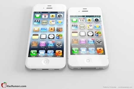 كيف سيبدو الايفون 5 بشاشة قطرها اربع بوصات؟