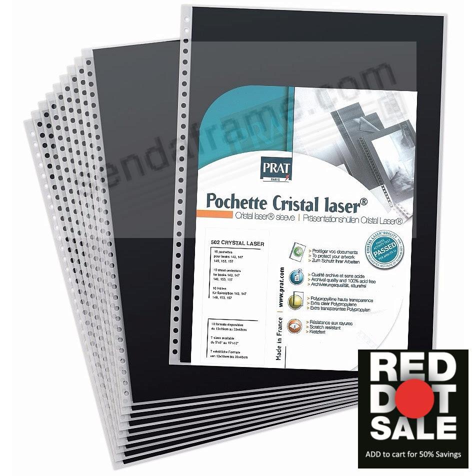 Genuine Prat Cristal Laser Refills For Spiral 5x7 Albums Picture