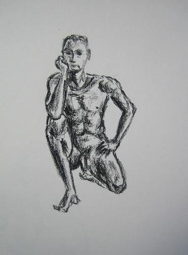 Matthew Felix Sun's Live Drawing _ 1983