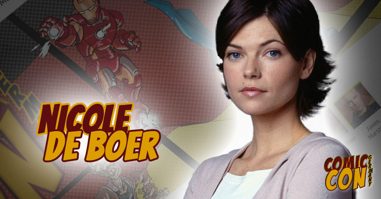 Nicole de Boer - CCON | COMIC CON GERMANY