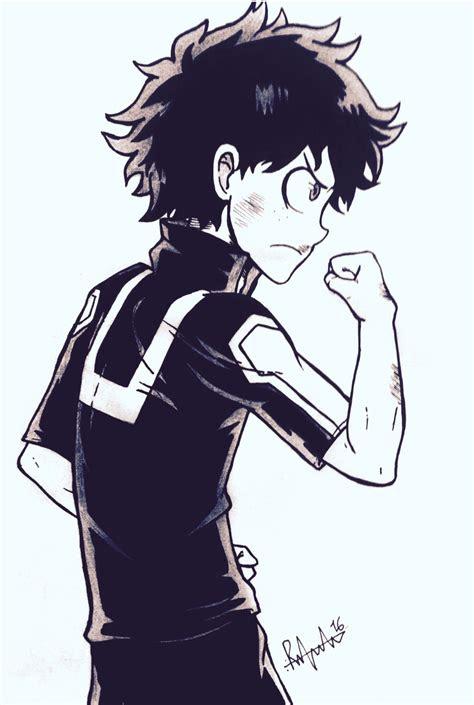love  draw deku  hero academia   good manga
