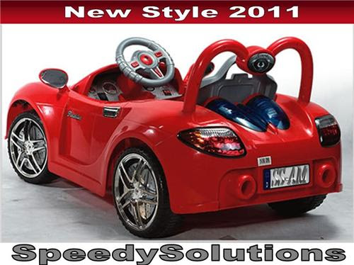 Kids Ride On Remote Control wheels Power Sports Car MP3  SpeedySolutions