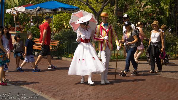 Disneyland Resort, Disneyland60, Disneyland, Main Street U.S.A., Mary, Poppins, Burt