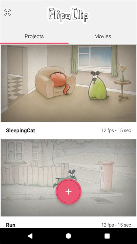 flipaclip cartoon animation  android
