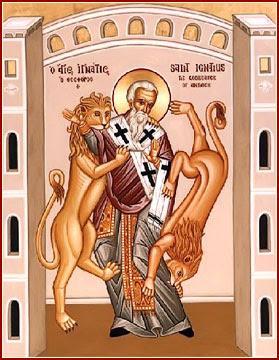 SAN IGNACIO DE ANTIOQUÍA, Obispo y Mártir