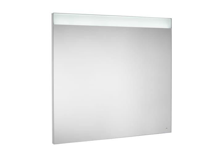 Basic Mirror With Upper Led Lighting Illuminated Mirrors